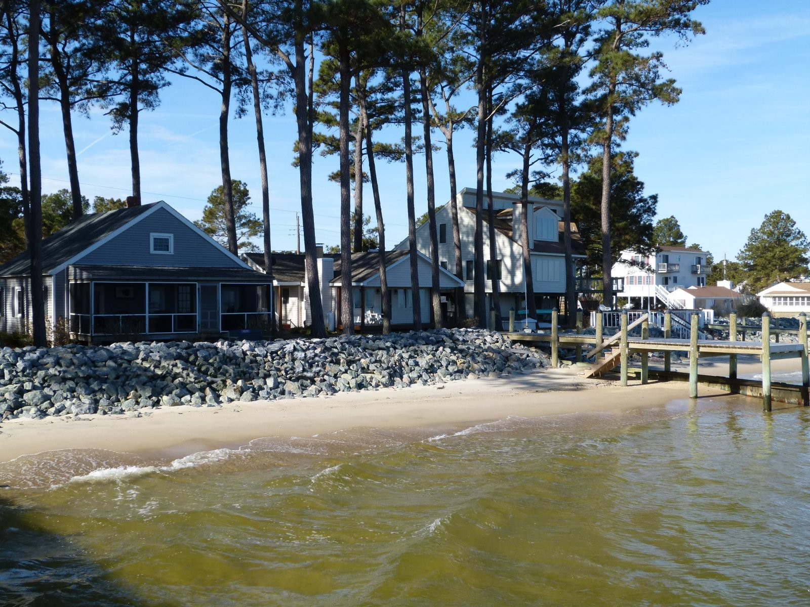 Chesapeake Beach Waterfront Homes For Sale