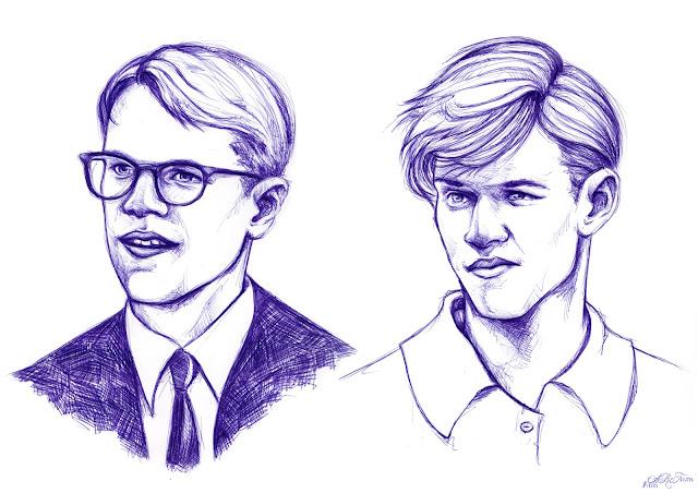 Ballpoint Pen Portraits6