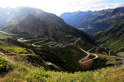 Gotthard Pass, Switzerland