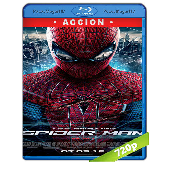 The Amazing Spiderman (2012) BrRip 720p Latino/Inglés AC3+subs