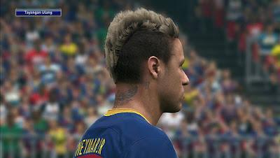 PES 2016 Neymar Jr Face V2 by Lord Yyud
