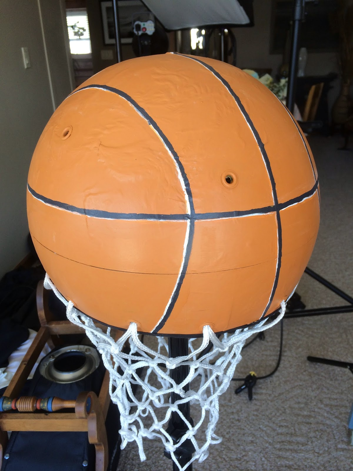 image Kawartha Lakes Mums featured   Upcycle -Globe Becomes Basketball Floor Lamp -TayRose Designs