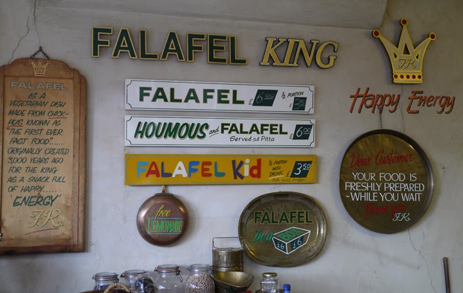 Falafel King on Portobello road by Alexis At Something I made blog