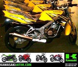 ninja 150SS kuning