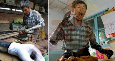 Hebat, Pria Tua Di China Ini Menciptakan Tangan Bionik Sendiri [ www.BlogApaAja.com ]