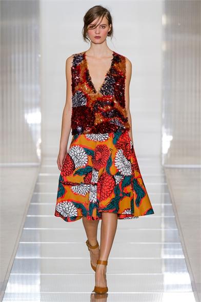 Marni print skirt spring 2013