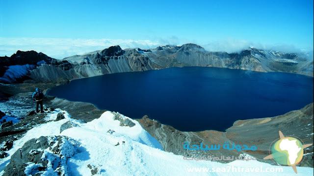 جبل Changbai في الصين