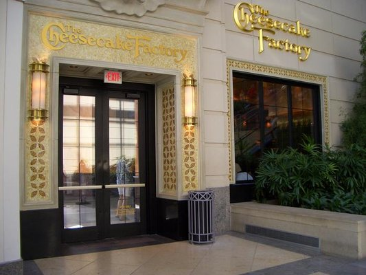 With over two hundred locations throughout the world, The Cheesecake Factory is one of the most popular restaurants around. This location, in the Back Bay district of Boston, is a popular destination for visitors to the nearby Theater District as well.