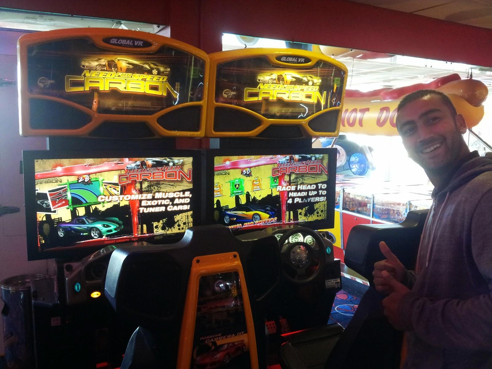 Arcade, Games freezer
