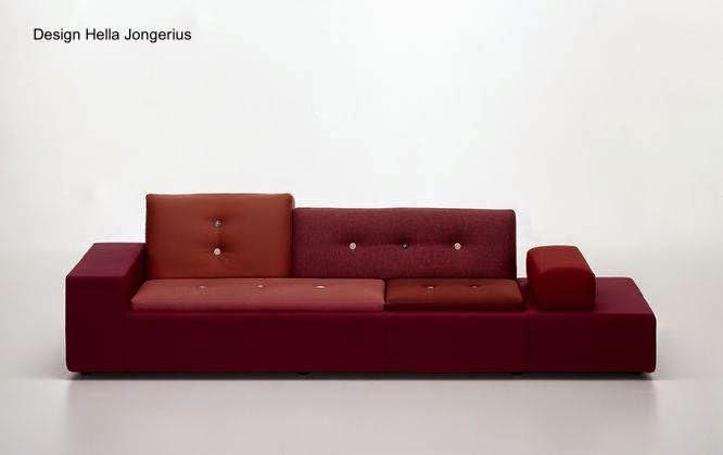 Sofá contemporáneo diseño multifuncional holandés