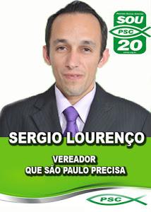 PASTOR SERGIO LOURENÇO O VEREADOR QUE SÃO PAULO PRECISA