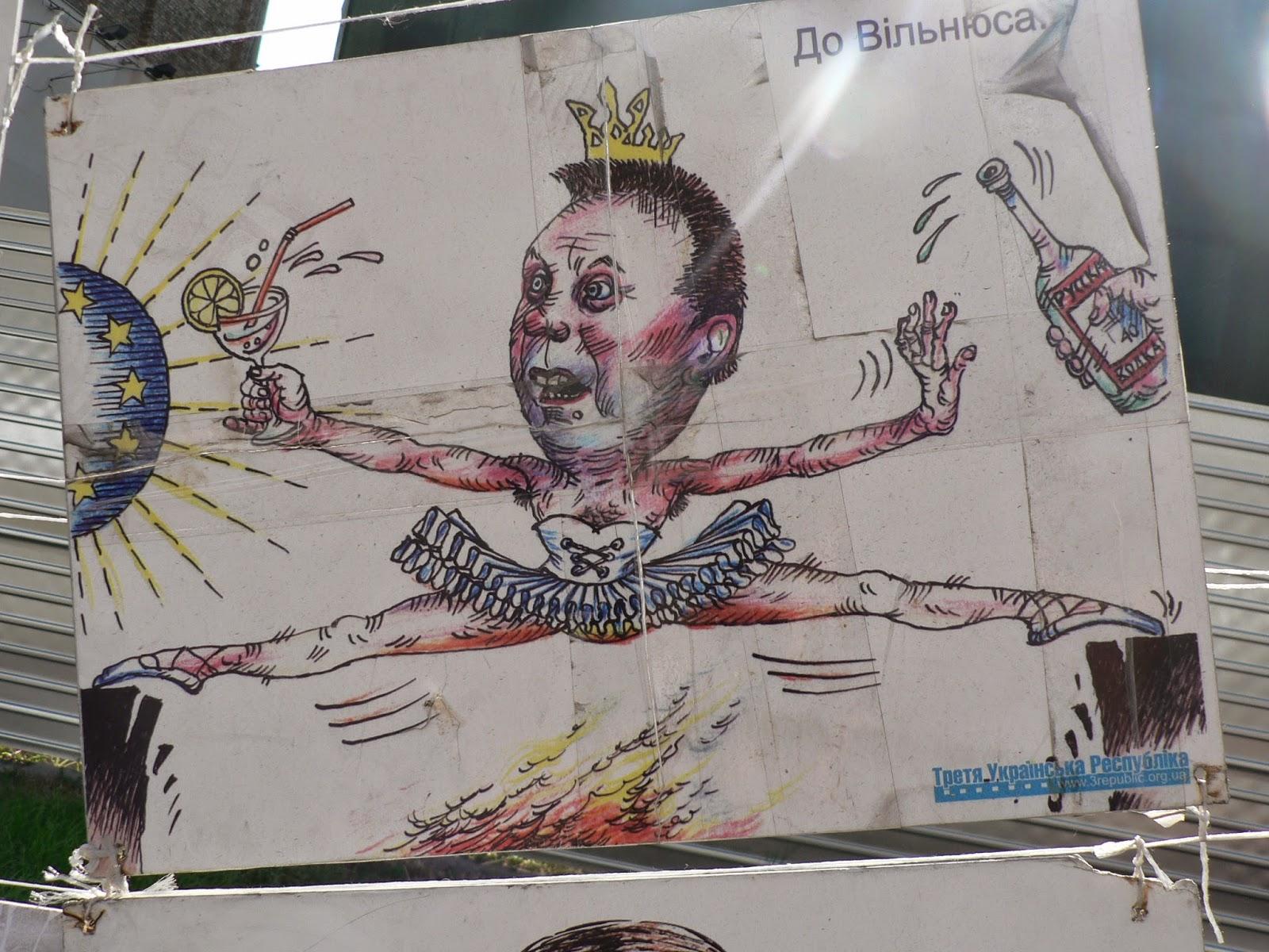 Karikaturi-Yanukovich