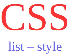 mengatur style list