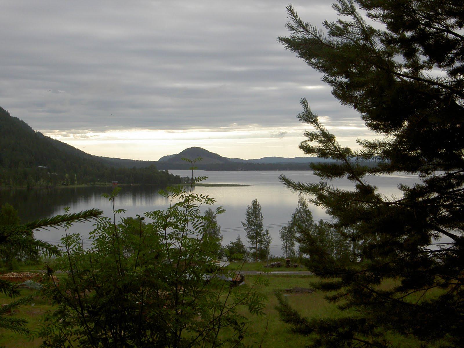 Utsikt mot Österövsjö