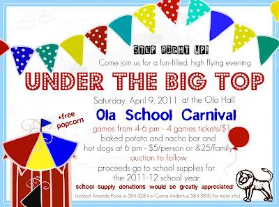school carnival flyer school carnival flyer template