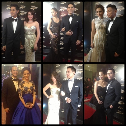 Celebrity couples: Bea Alonzo and Zanjoe Marudo, Gerald Anderson and Maja Salvador, Iya Villania and Drew Arellano, Kristine Hermosa and Oyo SOtto, Kaye Abad and Guji Lorenzana, Sam Concepcion and Jasmine Curtis-Smith