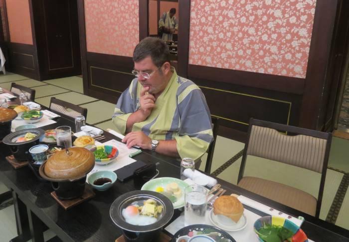 JAPON  REPAS SOIR
