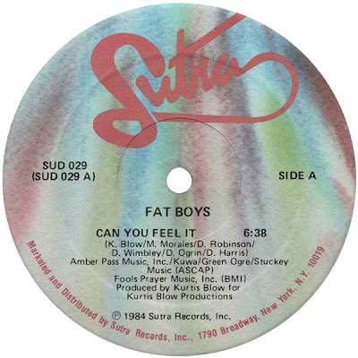 Fat Boys – Can You Feel It (VLS) (1984) (FLAC + 320 kbps)