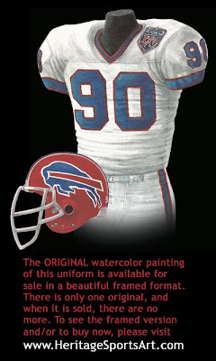 Buffalo Bills 1990 uniform