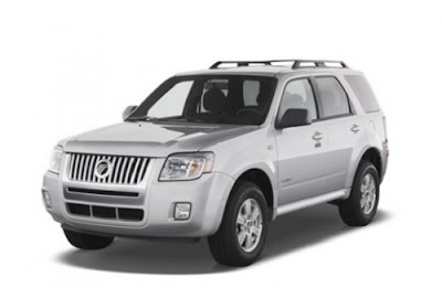 2011 Mercury Mariner front view