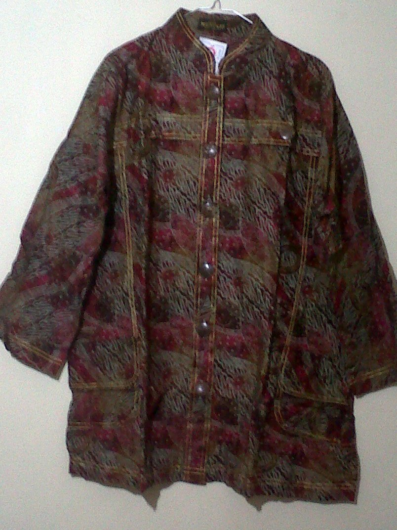 blus batik katun jumbo