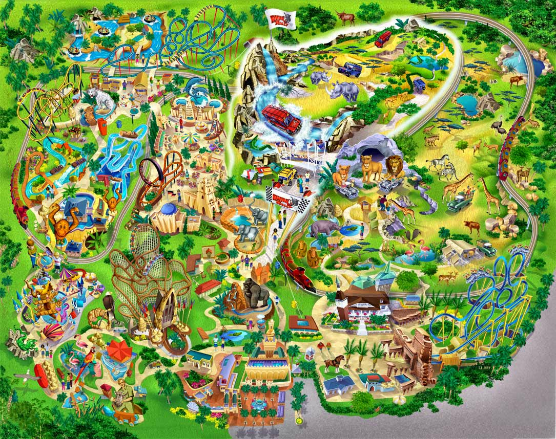 Busch Gardens Tampa Bay Usa Travel Guide