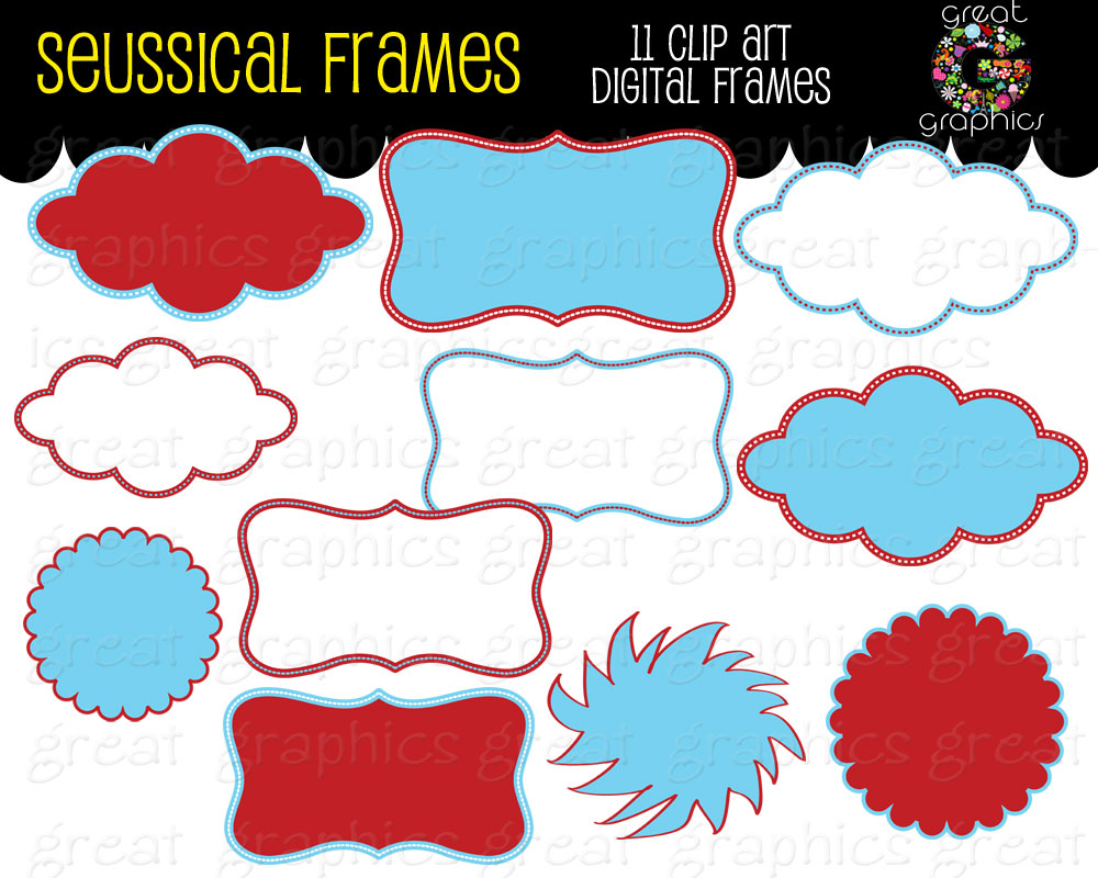 Great Graphics Seussical Frames