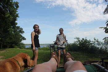Camping on Lake Pepin