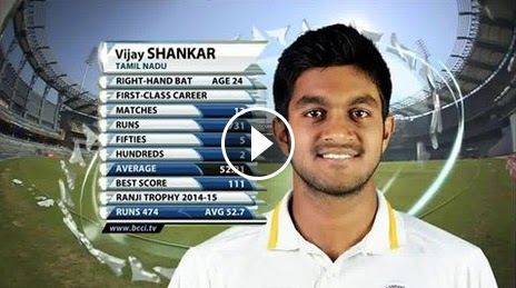 Highlights: Vijay Shankar's 103 Runs, Karnataka v Tamil Nadu, Ranji Trophy Final 2014-15
