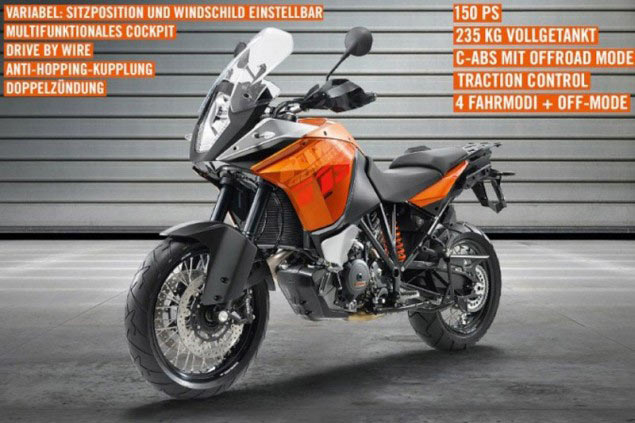 2013 KTM 1190 R Adventure