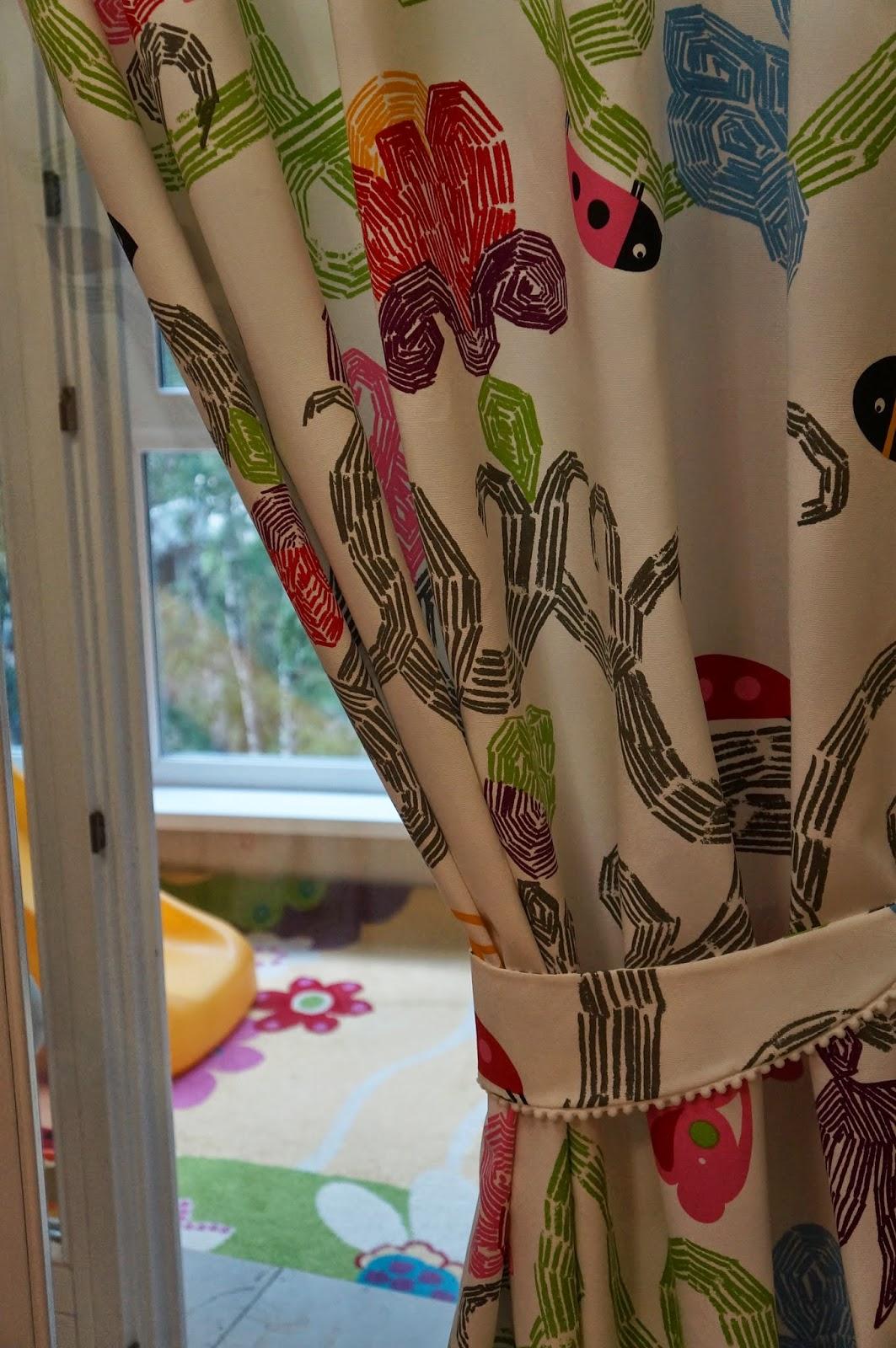 детские шторы икеа