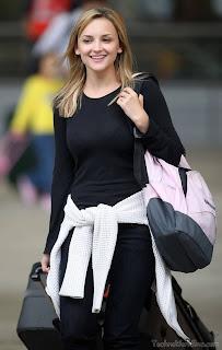 Jennifer Katharine Gates in black dress