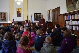 Μαθητές της β' τάξης του 55ου Δημοτικού Σχολείου Θεσσαλονίκης επισκέφτηκαν την ΥΜΑΘ