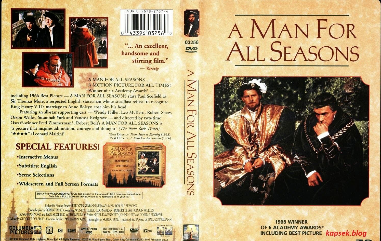 A man for all seasons essay