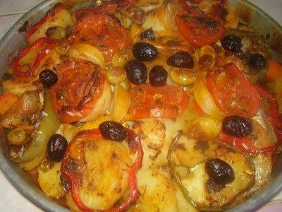 طريقة عمل طاجين السمك المغربي - اكل دوت نت