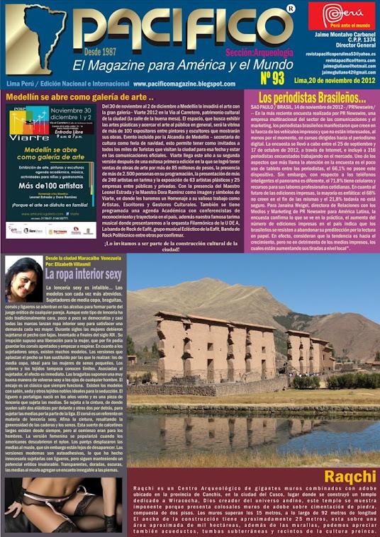 Revista Pacífico Nº 93 Arqueología