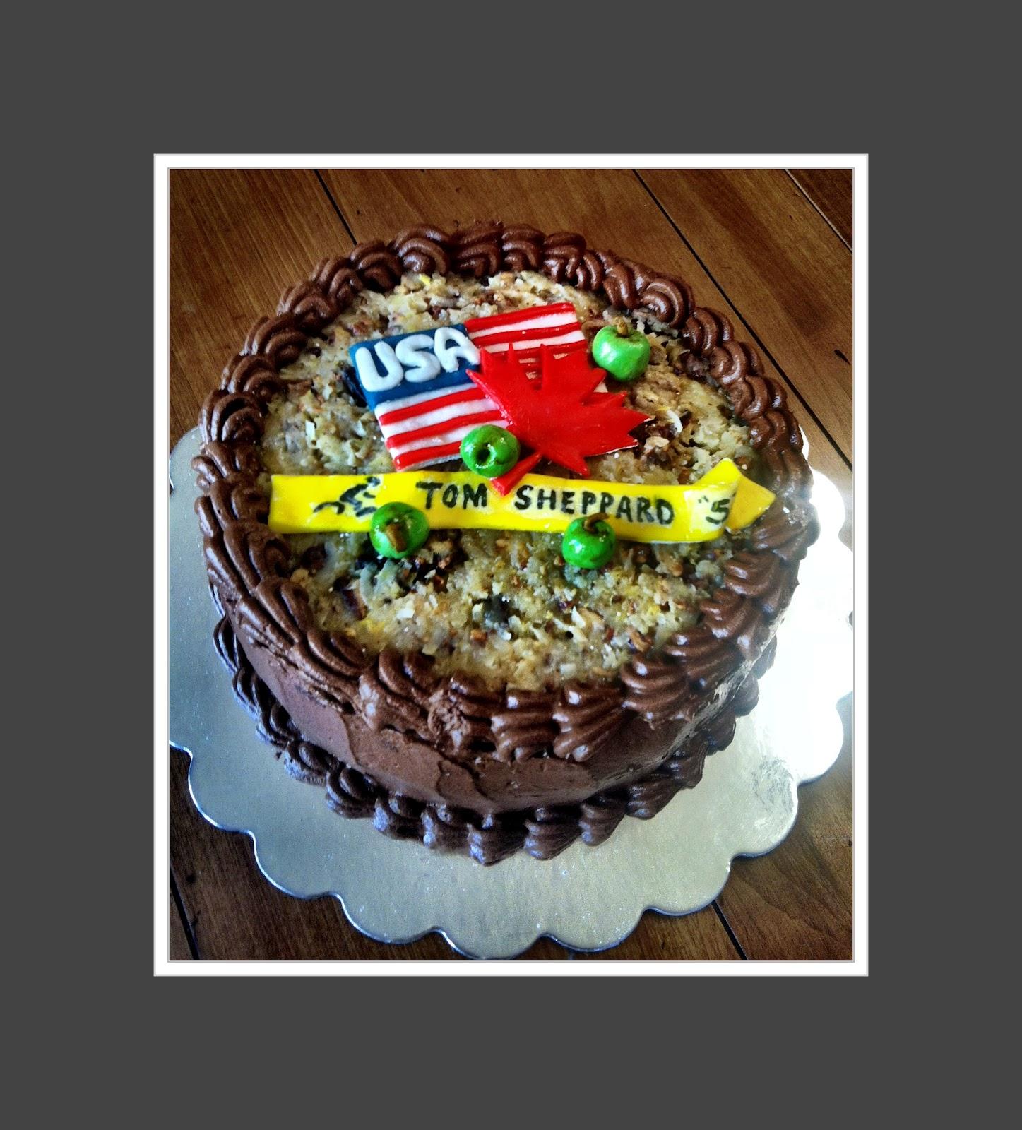 Hush Hush Sweet Charlotte Cakes Toms German Chocolate Birthday Cake