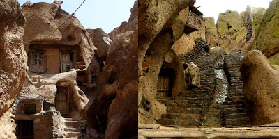 IRAN'S 700 YEAR-OLD HOUSES