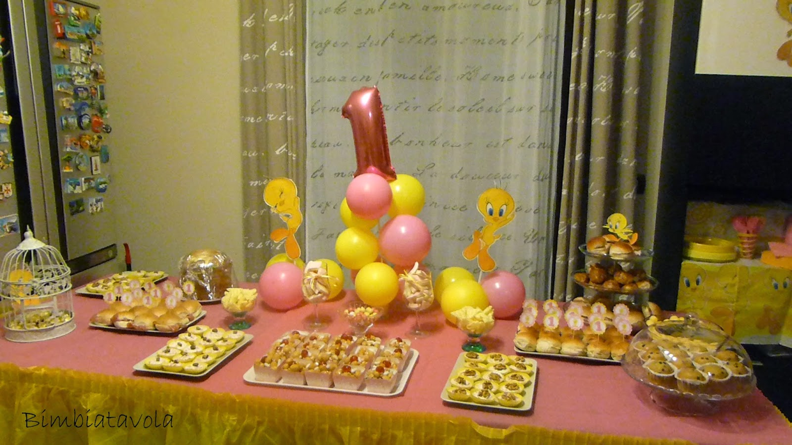 Molto bimbi a tavola: Festa a tema titti, il primo compleanno di Martina GQ44