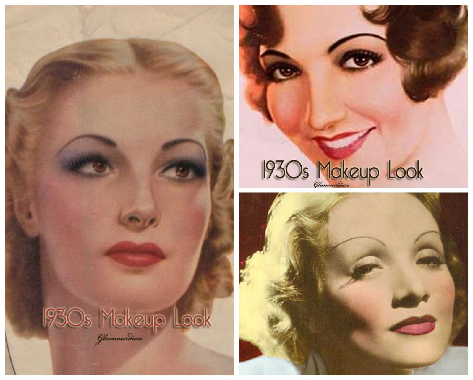 Makeup Through The Decades 2 1930s Mummys Beauty Corner