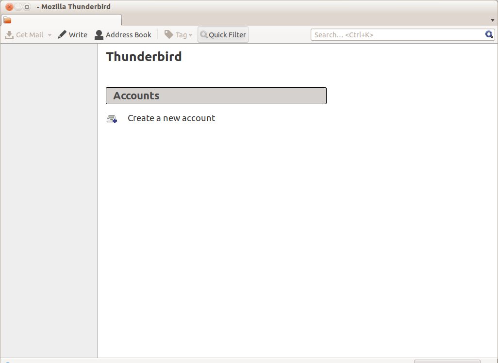 how to create link in thunderbird