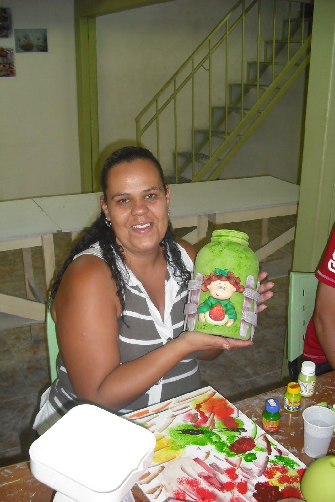Curso Esta    O Brasil   Biscuit   Potes Country E Safari   Professor
