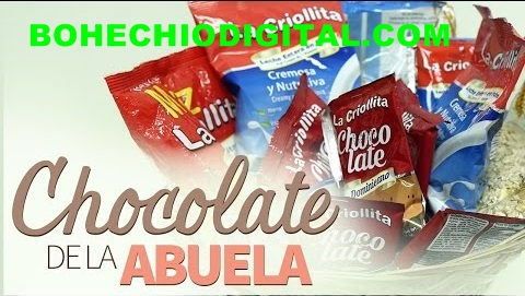 El Chocolate de la Abuela de Bohechío-Video