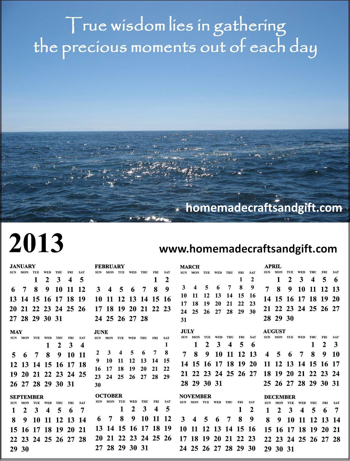 Free Printable Calendar Templates 2013 2014
