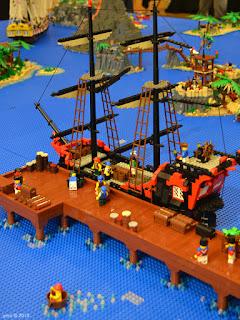 lego brick show ship