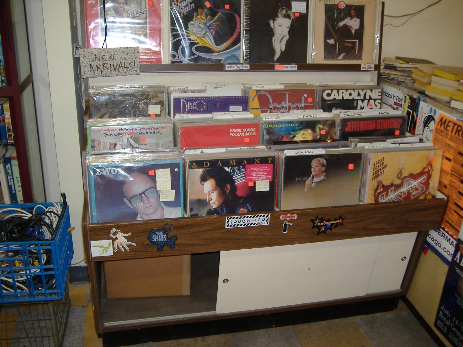 Hard Boiled Records Record Racks For Sale