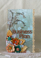 Featured Project at Prima's Blog - November 2011 Product Pick & Palette