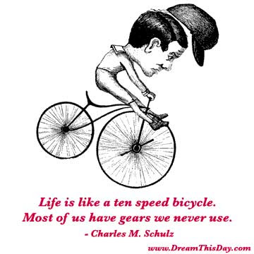funny bicycle quotes