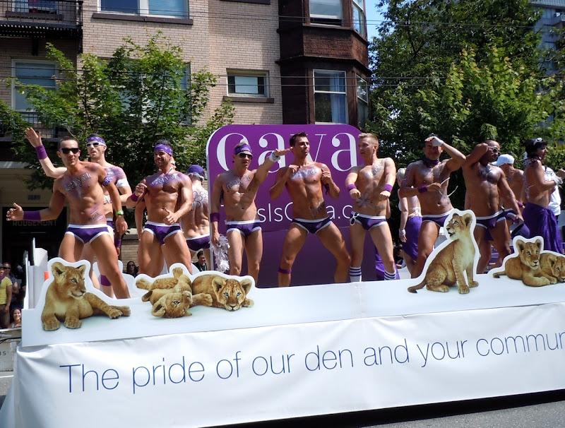 Vancouver Pride Parade Caya Float