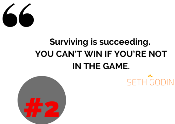 seth godin success and motivational quotes startup tips